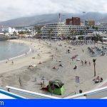 Adeje procede a la reapertura de la Playa de La Pinta tras el resultado de las analíticas del agua