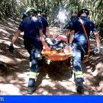 Bomberos de Tenerife Rescata a dos personas Stgo. del Teide, entre los operativos del fin de semana
