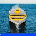 El nuevo trimarán de Fred. Olsen Express inicia su viaje desde Australia hacia Canarias