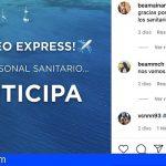 """Sanitarios ganadores del sorteo """"Entra en fase tranquilidad"""" disfrutarán de unas vacaciones en Canarias desde mañana"""
