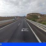 Granadilla  | Un fallecido y dos heridos en una colisión frontal en la TF-1, altura kilómetro 46
