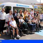 El C.A.D Los Olivos cuenta con un vehículo adaptado para facilitar el desplazamiento de los usuarios