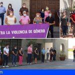 Adeje, Granadilla y San Miguel guardaron un minuto de silencio en memoria de Carolina Fumero