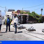 Stgo. del Teide | Visita a las obras de urbanización del casco histórico de Arguayo