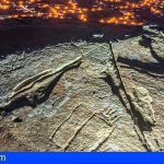 Canarias documenta en 3D los grabados podomorfos de Tindaya en Fuerteventura