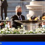 Canarias asiste al homenaje de Estado con un grupo de personas que han vivido el Covid-19