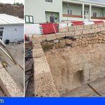 Granadilla | El Cabildo repara y refuerza un muro de contención en la TF-638