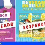Adeje aplaza las actividades culturales previstas para el fin de semana por las altas temperaturas