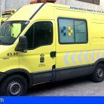 Granadilla | Tres heridos, uno grave, en un accidente de tráfico en la TF-1