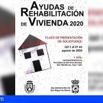 San Miguel acoge, un año más, el Plan Insular de Rehabilitación de Vivienda