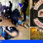 Desarticulan en Guargacho y Garachico la banda motera Hells Angels por drogas y extorsión