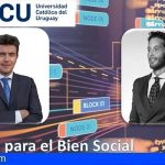 El investigador Javier Pérez Barea y Francisco Ximénez ponentes en una Open Lecture sobre RSC en Uruguay