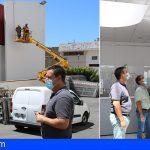 Arona comienza a renovar e instalar las cámaras de seguridad en las dependencias municipales