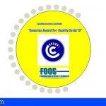 «Canarian Award For Quality Covid 2020», distintivo de Seguridad en los Establecimientos