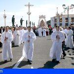 La Guardia Civil establece un dispositivo de seguridad en la peregrinación a Candelaria