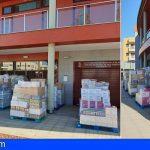 Distribuyen en Granadilla los alimentos entre las asociaciones y las ONG para las familias más vulnerables del municipio