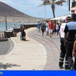 Un bañista fallecido en El Médano, tras ser rescatado con signos de ahogamiento