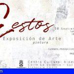 """San Miguel   El Centro Cultural Aldea Blanca acoge la exposición de pintura """"Gestos"""", de Silvana Losi"""