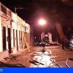 Extinguen un incendio en una casa terrera del Puerto de la Cruz
