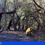 Se da por controlado el incendio de Las Creces, La Gomera