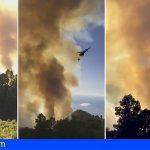 La Palma | El incendio en Garafía ha pasado a nivel 2