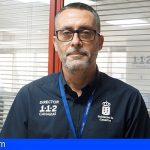 Moisés Sánchez Arrocha, nuevo director del 1-1-2 Canarias