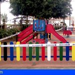Guía de Isora adjudica el proyecto de acondicionamiento y mejora de seis parques infantiles