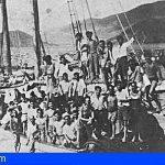 El Parlamento de Canarias recuerda la travesía del barco Telémaco en su 70 aniversario