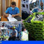 Arona firma el convenio que permitirá abrir en Los Cristianos el punto de venta directo de pescado