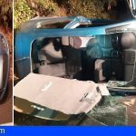 Rescatan a dos personas en La Matanza tras volcar y quedar atrapadas en su vehículo