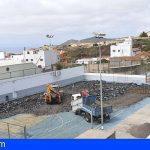San Miguel ejecuta las obras de mejora y acondicionamiento del polideportivo Óscar González
