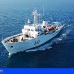 El Buque de la Armada «Tofiño» actualiza la cartografía náutica de la costa del Archipiélago Canario