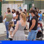 De los 586 colegios públicos de Canarias, sólo 22 aplazan el inicio de la actividad lectiva hasta la próxima semana