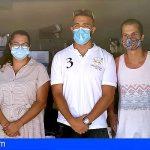 Stgo. del Teide agradece al Club de Leones la donación de alimentos al banco de alimentos municipal