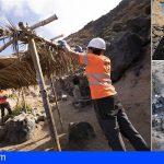 El Cabildo extrae en La Caleta de Adeje casi veinte toneladas de residuos y desmantela 122 cabañas