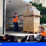 Canarias | Delegación del Gobierno empieza a distribuir las 688.000 mascarillas enviadas por el Gobierno de España