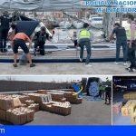 Macrogolpe al narcotráfico, se incautaron 35 toneladas de hachís en 4 veleros, 1 en Fuerteventura