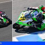 El tinerfeño Fran Alonso supera con nota la cuarta cita del ESBK en Jerez