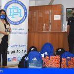 Stgo. del Teide | La Fundación Pedro Rodríguez entrega mochilas y material escolar a 7 familias con pocos recursos