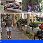 La ZCA Los Cristianos denuncia nuevamente la masiva presencia de indigentes en sus calles