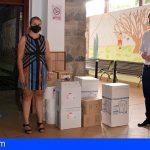 Santiago del Teide implanta todas las medidas anti-Covid para el inicio del curso escolar