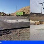 El Cabildo comienza en Arico los trabajos para la retirada de neumáticos del complejo ambiental