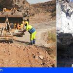 Granadilla | Consolidado el talud natural a la altura del kilómetro 7,9 TF-645 para garantizar la seguridad