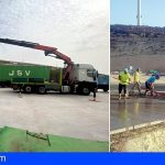 Arico | Comienzan los trabajos para la retirada de neumáticos del complejo ambiental