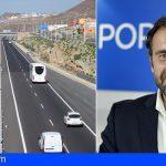 """El PP reclama al Cabildo un """"papel activo"""" en el impulso del tercer carril entre San Isidro y Las Américas"""
