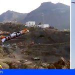 Santiago del Teide | Un herido grave tras precipitarse por el barranco de La Saoguera