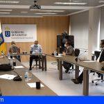 FECAO mantuvo una reunión para abordar el tema de la situación actual de las pymes canarias