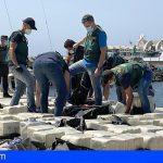 Intervienen un velero con una tonelada de cocaína a 88 millas de La Palma