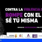 Arona lanza 'Rompe con el miedo. Sé tú misma', para concienciar y luchar contra la violencia de género