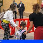 Los colegios de Arico arrancan el curso escolar siguiendo todas las medidas anti Covid-19